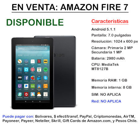 Amazon Fire 7 - Tablet FIRE7