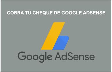 Cobrar Cheque Google Adsense