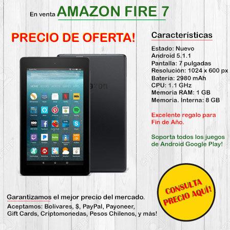 Amazon Fire 7 - Tablet FIRE7