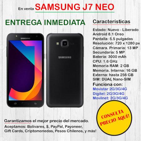Samsung J7 Neo DUAL SIM - Smartphone J7NEO