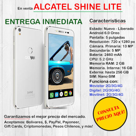 Alcatel Shine Lite - Smartphone ALCATELSHINE