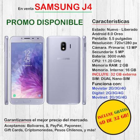 Samsung J4 DUAL SIM - Smartphone J4