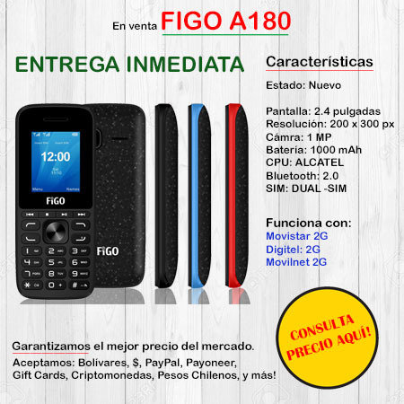 FIGO A180 - Teléfono FIGOA180