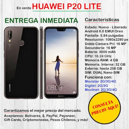 Huawei P20 Lite DUAL SIM - Smartphone HUAWEIP20LITE