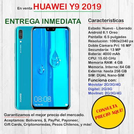 Huawei Y9 DUAL SIM - Smartphone HUAWEIY9