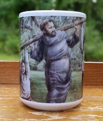 Living Missions Series Mug: Fr. Augustin