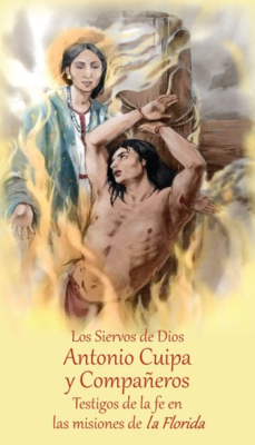 Prayer Card for the Beatification of Servants of God Antonio Cuipa and Companions in Spanish