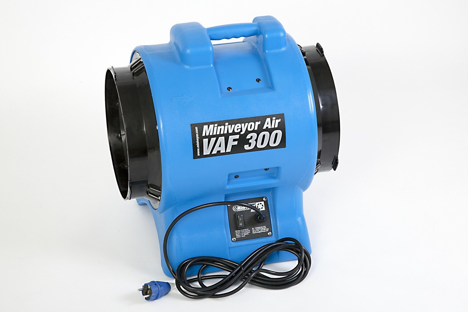 "Miniveyor Air VAF-300 230V (EU) 12"" Portable Fume Extractor - 3400 m³/hour (2000 CFM)"