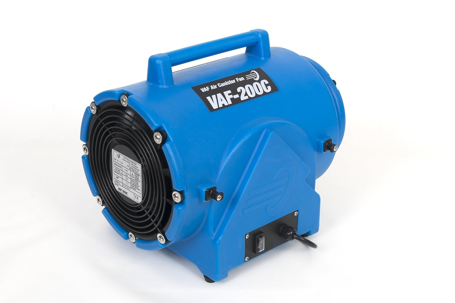VAF Air VAF-200C Canister Fan 110V - 1500 m³/hour (880 CFM)