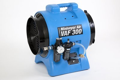 Miniveyor Air VAF-300P-FRL Intrinsically Safe Pneumatic Ventilator - 3400 m³/hour(2000 CFM)