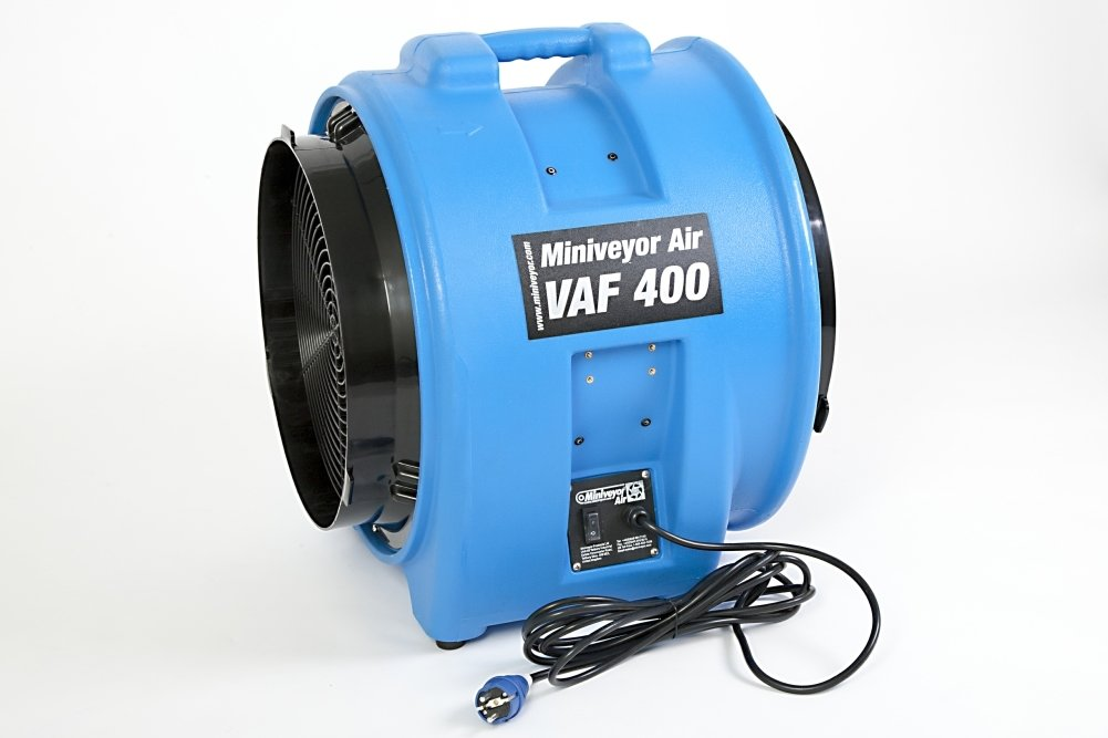 "Miniveyor Air VAF-400 110V 16A 16"" Portable Fume Extractor - 7500 m³/hour (4450 CFM)"