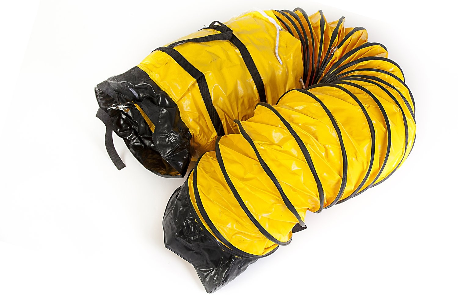 Miniveyor Air Bag Duct 200mm dia. x 7.5m long Flexible Duct with Storage Bag