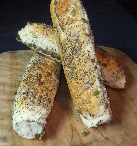 Gluten free long rolls ( 7 seed)
