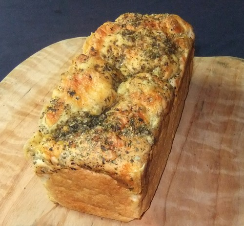 Cheese and herb gluten free loaf