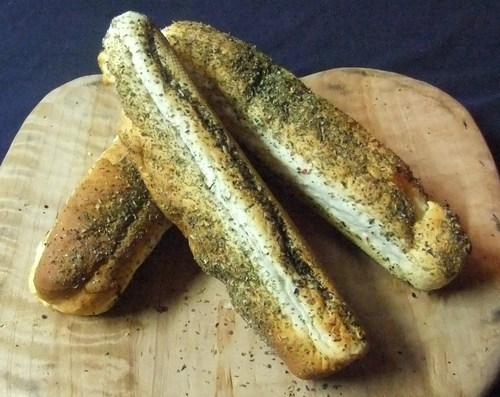 Gluten free long rolls ( herb)