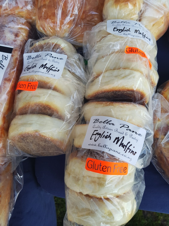 Gluten free English muffins 4 pack