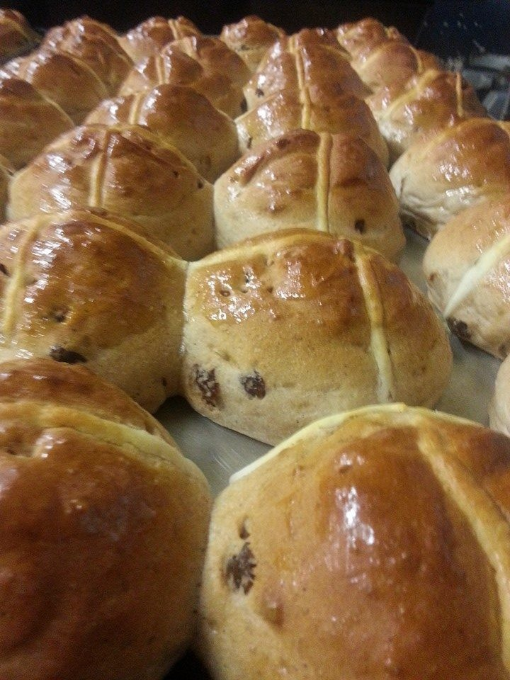Gluten Free Hot cross bun 4 pack