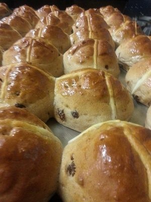 Gluten Free Hot cross bun 4 pack