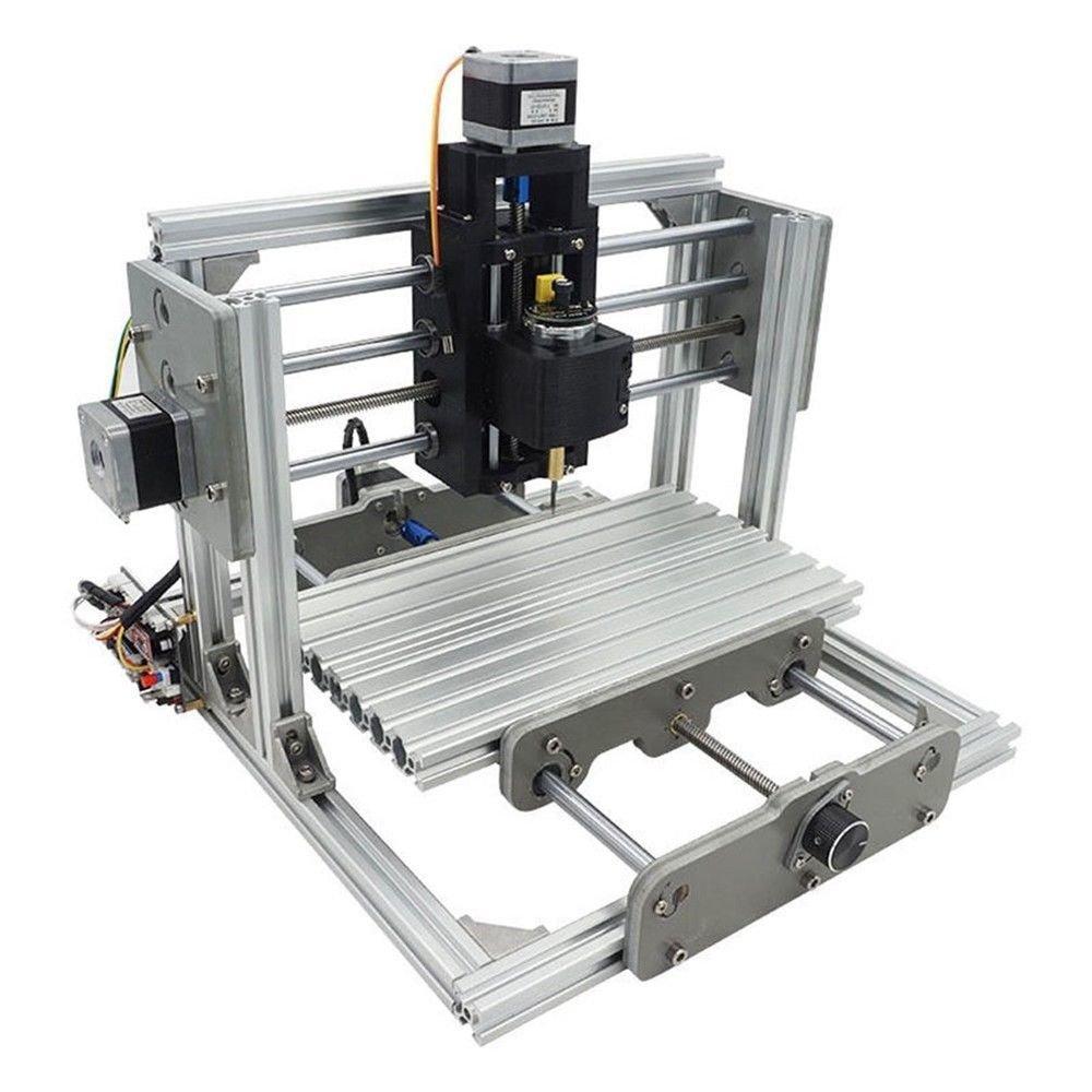 Laseraxe Mini 3 Axis Usb Desktop Cnc Router Wood Pcb Milling Engraving 775 Motor 2417