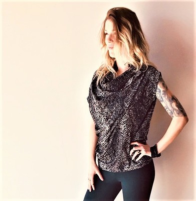 VOLCANO FAUVE TOP (ONE SIZE)