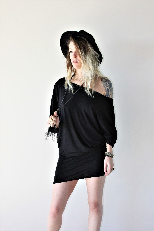 SUELLA DRESS BLACK (ONE SIZE)