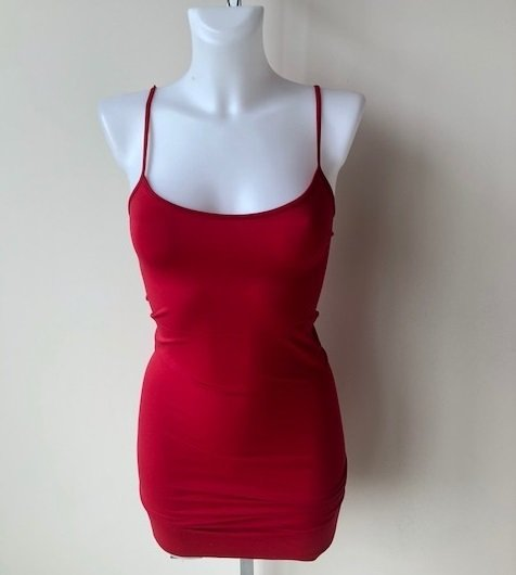 Cami Dress Red