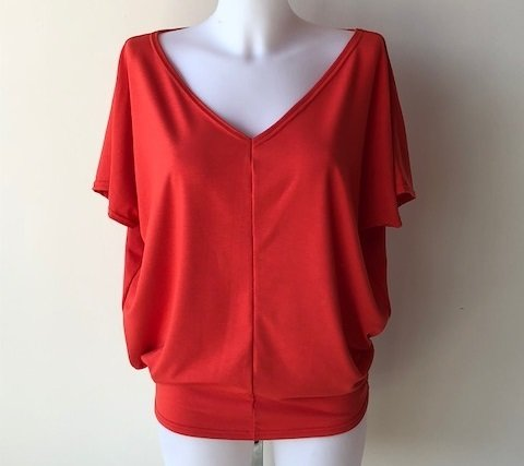 Kyra Red Coral (One Size)