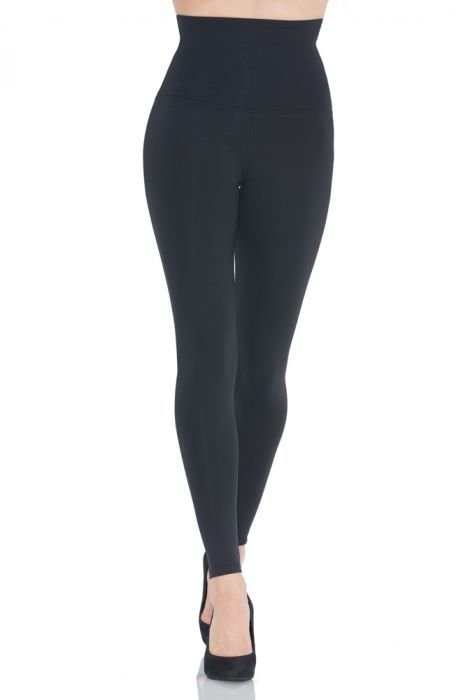 LEGGING hight waisted SLIM BLACK 5639
