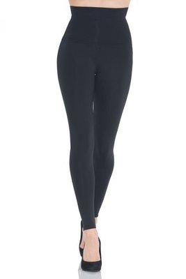 LEGGING HIGH WAISTED SLIM BLACK 5639
