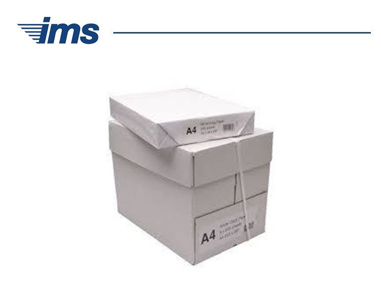 A4 Copier paper 80 gsm (5 reams per box)