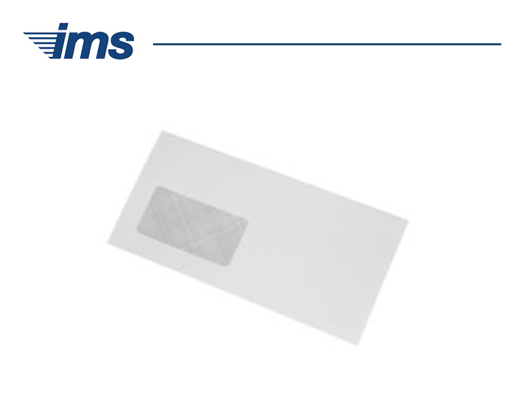 DL White Window Machine Envelopes (1000)