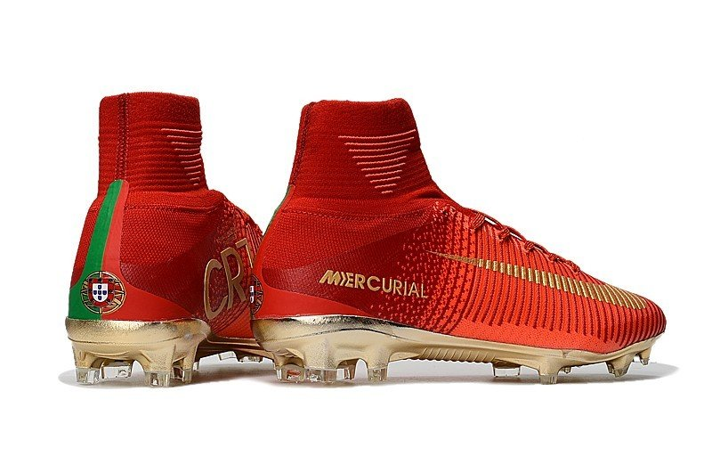 low priced 8abdb 81557 Nike Mercurial Superfly V CR7 (Portugal) Red