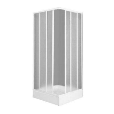Box doccia entry78x89 h 185 acrilico profilo bianco