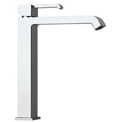 """PAINI Serie Q Miscelatore monoforo lavabo tipo alto con piletta clic-clac 1""""1/4"""