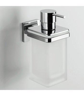 Dispenser Dosasapone A Parete Colombo Basic Q, Cromo