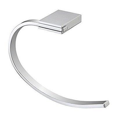 FERIDRAS FUTURA Portasalviette in acciaio cromato con piastrine in acciaio antiruggine