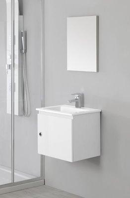 FERIDRAS Composizione Bagno 50cm Laccato Bianco