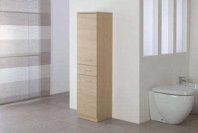 FERIDRAS Colonna Singola 35cm 2Ante/1Cassetto Stella Larice