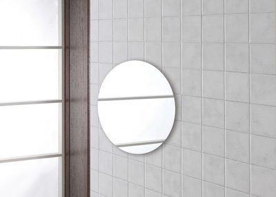 FERIDRAS Specchio Tondo Diametro 50cm Filo Lucido
