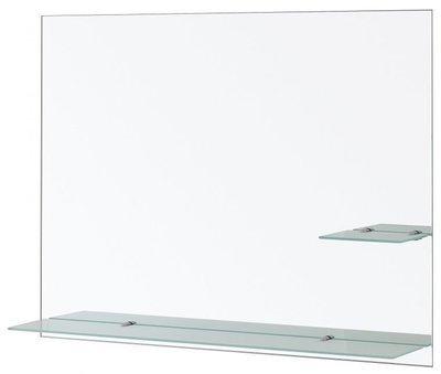 FERIDRAS Specchio Con Mensole Satinate 80X60cm