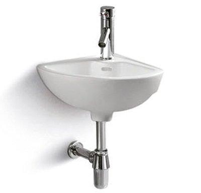 Lavabo sospeso ceramica bianca 330x330x150mm