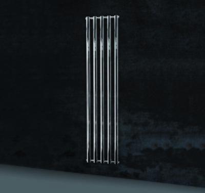 DIVINA Radiatore Bagno Termoarredo Cromato bagno 5 TUBI 420x1800mm