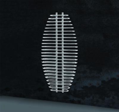 ARIA Radiatore Bagno Termoarredo Cromato bagno 25 TUBI 600x1300mm
