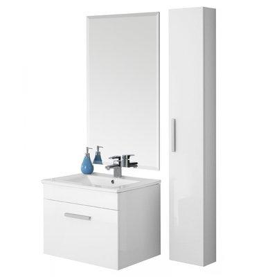 FERIDRAS Composizione Bagno 60cm Bianco