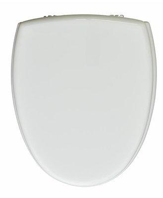 Sedile WC Copriwater per vaso UNO CERAMICA (AXA) SYNUA Legno Poliestere Tavoletta Compatibile Adattabile Bianco Cerniere Cromate