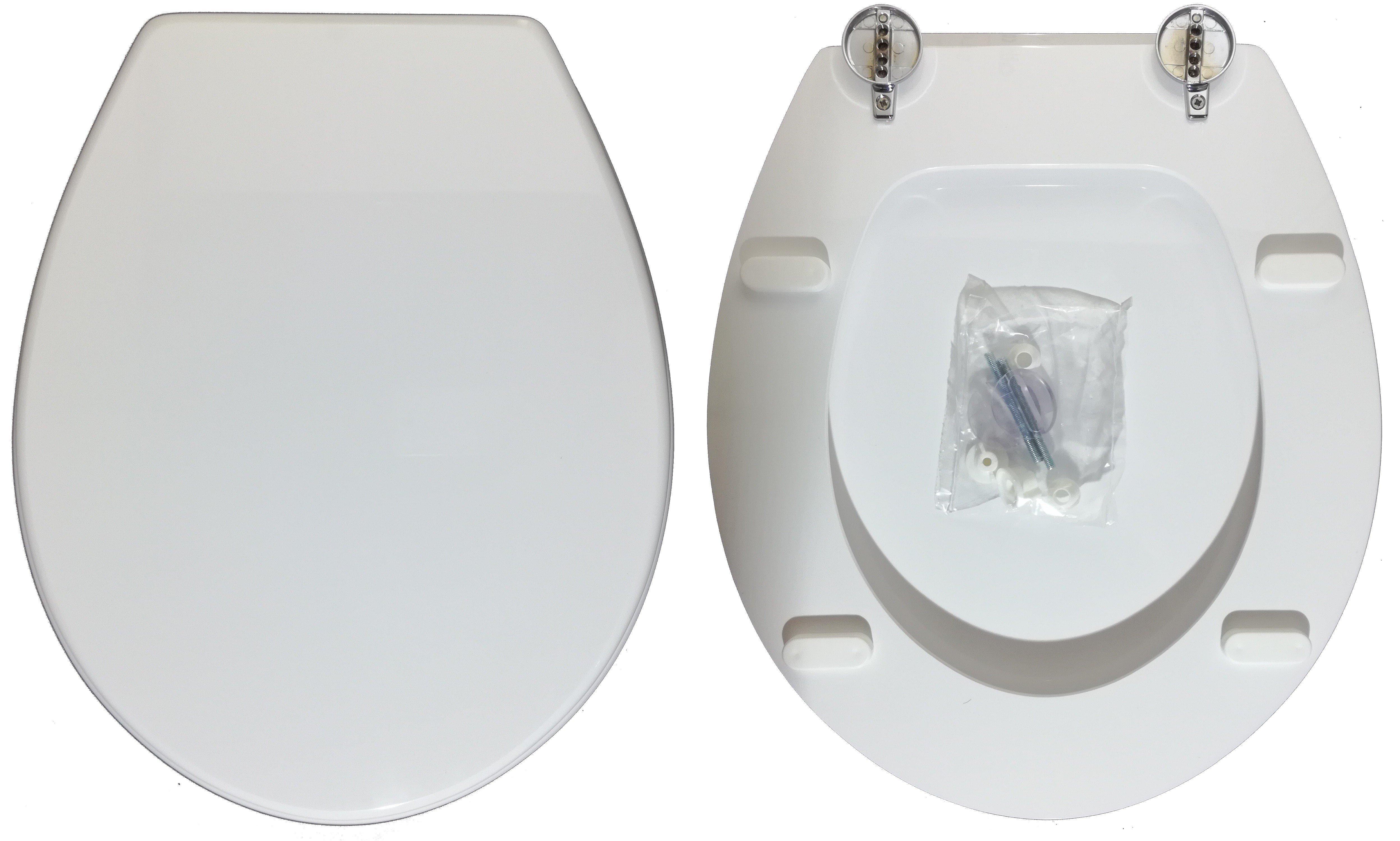 Sedili Wc Per Disabili : Sedile wc copriwater per vaso esedra poing legno poliestere