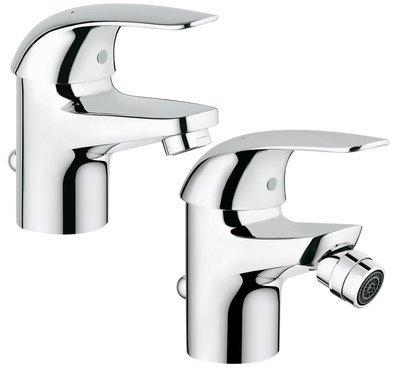 GROHE Euroeco SET Miscelatore lavabo+bidet  Monocomando Taglia S