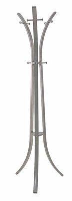 Bizzotto Trend Appendiabiti, Metallo, Argento 56x56x178 cm