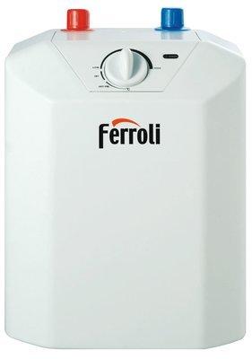 Ferroli NOVO - Scalda acqua elettrico 5 litri o 10 litri scaldabagno