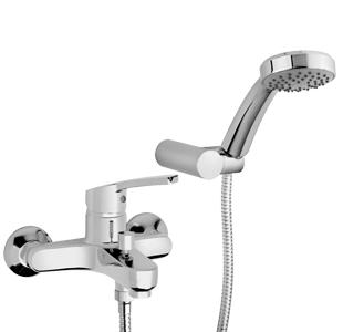 """PAINI MIURA Miscelatore vasca esterno con doccia """"Duplex"""""""